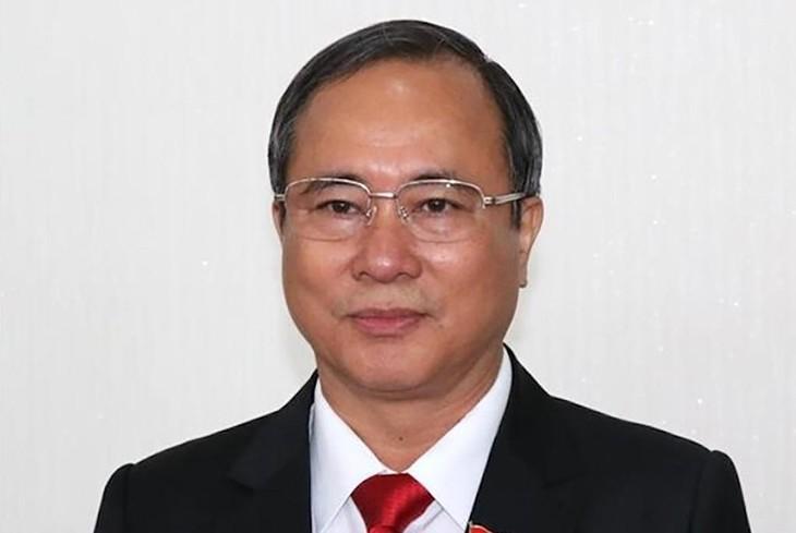 Cựu Bí thư Trần Văn Nam. Ảnh: TTXVN