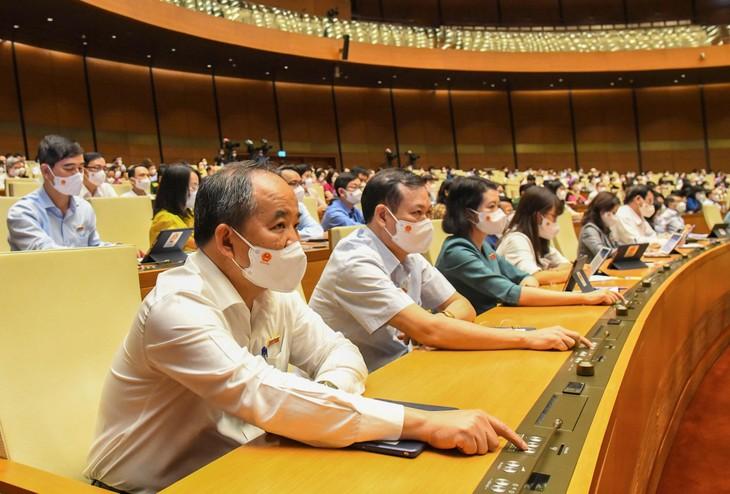 Quốc hội thông qua Nghị quyết phê chuẩn bổ nhiệm 4 Thẩm phán TAND tối cao