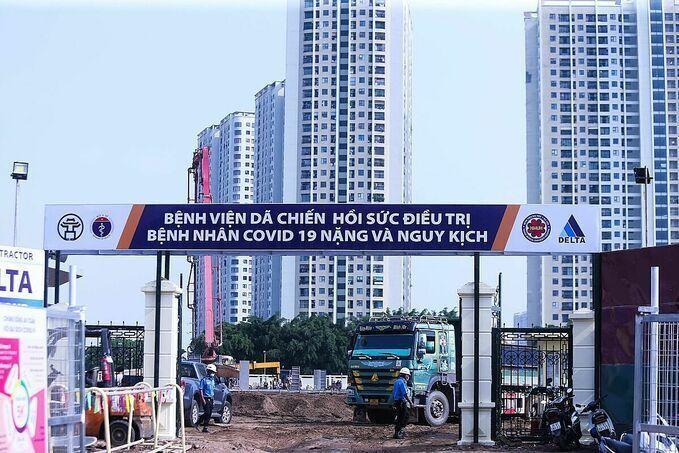 Hà Nội lên phương án trong tình huống toàn thành phố có 40.000 người mắc, trong đó có 8.000 giường điều trị ở 3 mức độ. Ảnh: Thanh Huyền