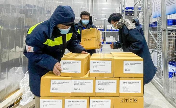 Từ đầu tháng 7 đến nay, VNVC đã đưa về Việt Nam hơn 6,2 triệu liều vaccine Covid-19 của AstraZeneca