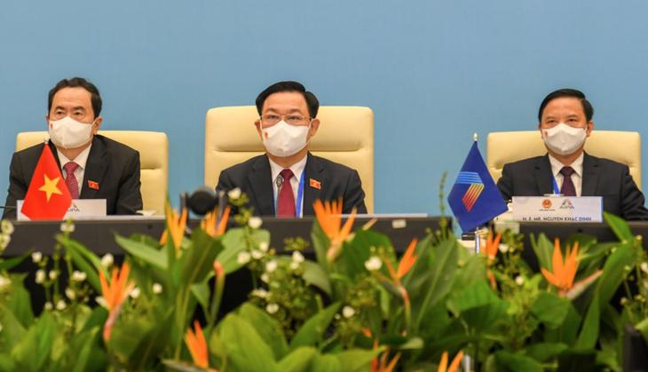 Chủ tịch Quốc hội Vương Đình Huệ và các đại biểu dự Đại hội đồng AIPA – 42.