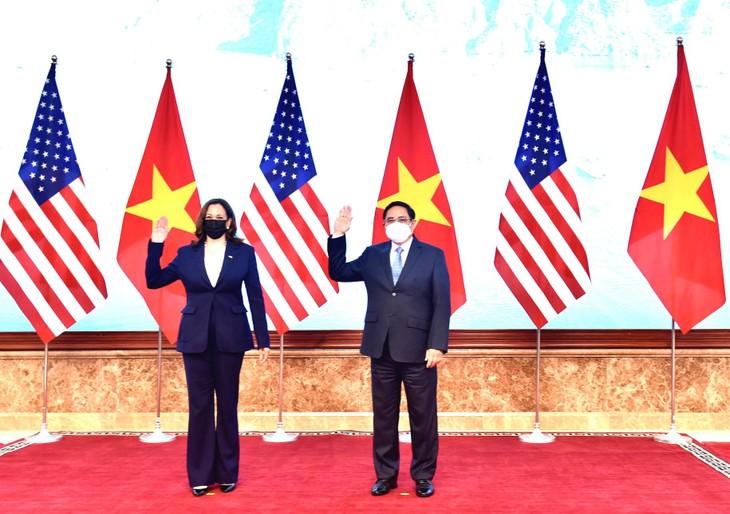Thủ tướng Phạm Minh Chính và Phó Tổng thống Hoa Kỳ Kamala Harris