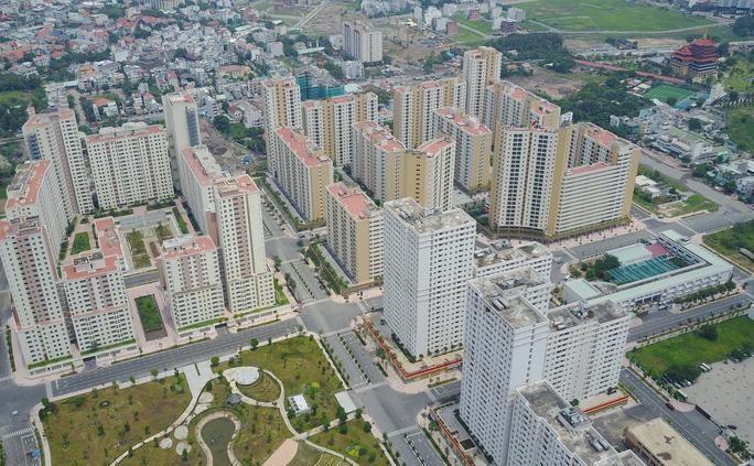 TP.HCM đang có 9.434 căn hộ và 2.254 nền đất tái định cư thuộc sở hữu nhà nước, nhà đất chưa sử dụng.