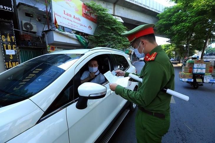 Hà Nội có thể phải giãn cách xã hội thêm 7 ngày sau 6/9. Ảnh TTXVN