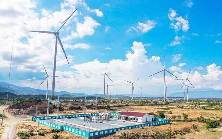 Trung Nam Group vận hành thương mại Dự án Điện gió số 5 - Ninh Thuận