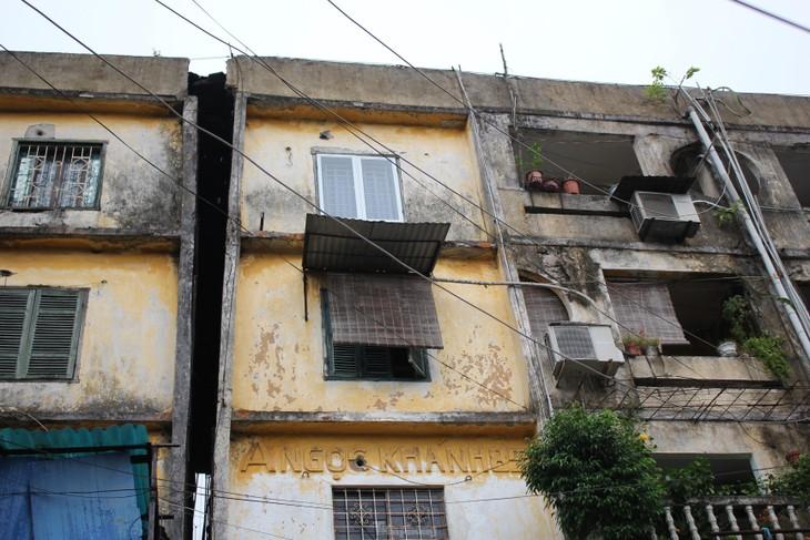 Cận cảnh 4 khu chung cư nguy hiểm cấp D ở Hà Nội sắp được cải tạo