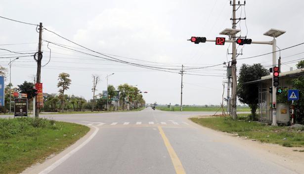 Điểm cuối tuyến đường An Viên Mỹ Thành đấu nối với ngã tư Xuân Thành - Xuân Hội. Ảnh chỉ mang tính minh họa. Nguồn Internet