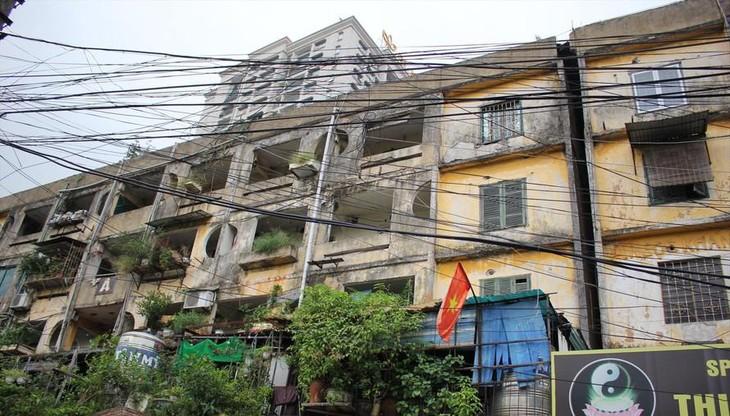 Chung cư cũ ở phường Ngọc Khánh, quận Ba Đình, Hà Nội