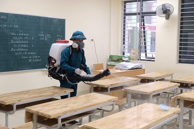Hà Nội hướng dẫn chi tiết việc chuẩn bị đón học sinh tựu trường