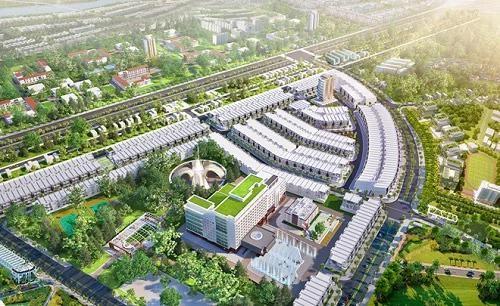 Phối cảnh dự án Làng Đại học Đà Nẵng. Ảnh chỉ mang tính minh họa. Nguồn Internet