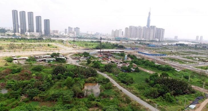 Giá đất và giá trúng đấu giá các khu đất có tác động lớn đến tính giá trị m3. Ảnh chỉ mang tính minh họa. Nguồn Internet