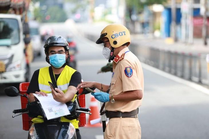 TP.HCM không cấp giấy đi đường sau ngày 30/9
