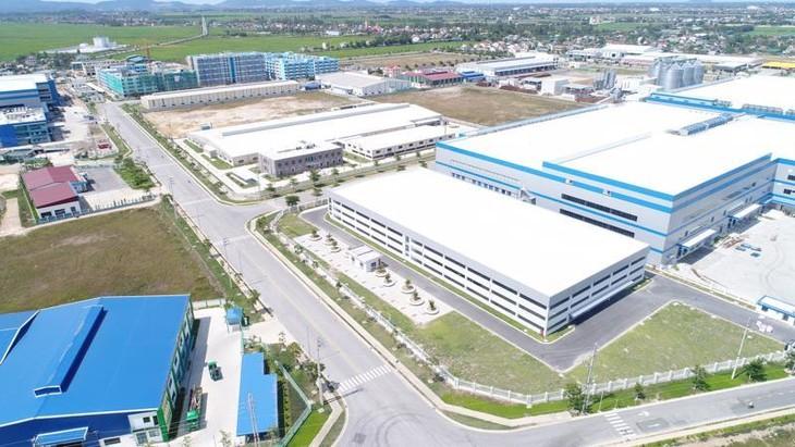 Một góc Khu công nghiệp VSIP Nghệ An