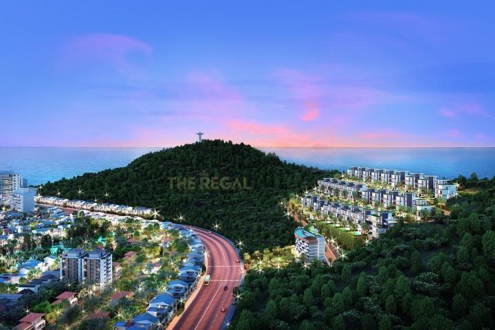 Dự án Khu biệt thự The Regal có một phần diện tích đất chưa có quyền sử dụng đất hợp pháp