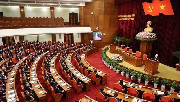 Quang cảnh một hội nghị Ban Chấp hành Trung ương Đảng. Ảnh: TTXVN