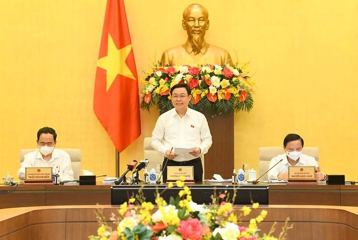 Chủ tịch Quốc hội Vương Đình Huệ sẽ tham dự, phát biểu khai mạc Phiên họp thứ 4, Ủy ban Thường vụ Quốc hội khóa XV