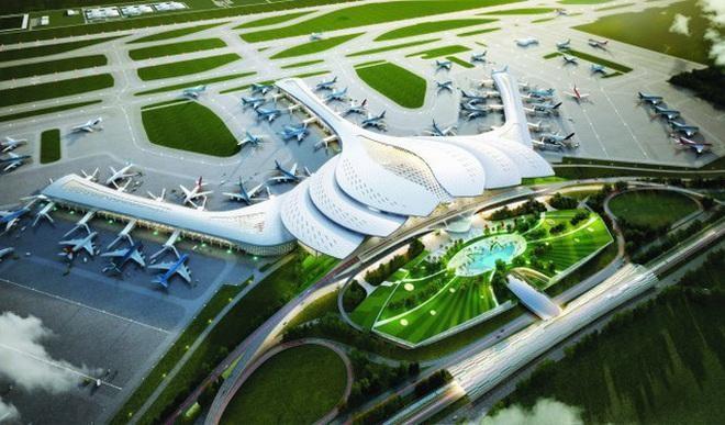 Phối cảnh Dự án sân bay Long Thành
