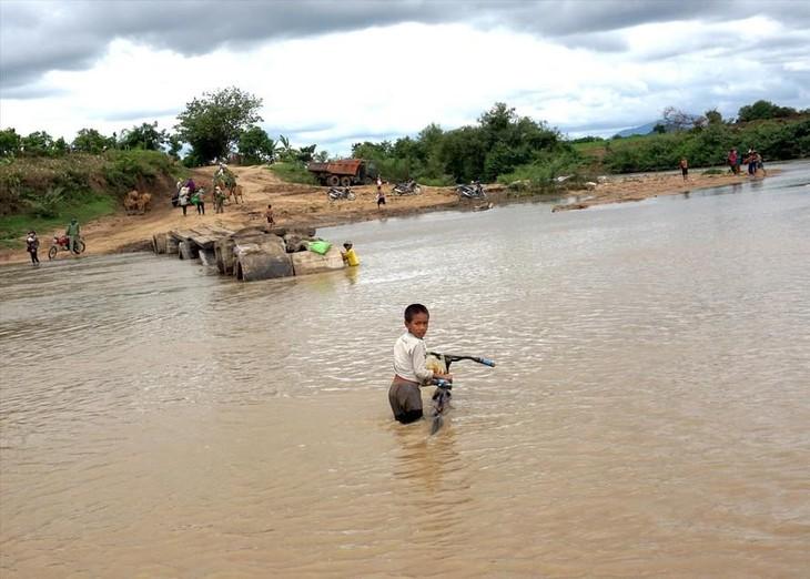 Dự án Cầu qua sông Ayun được thực hiện tại huyện Phú Thiện, tỉnh Gia Lai. Ảnh chỉ mang tính minh họa. Nguồn Internet