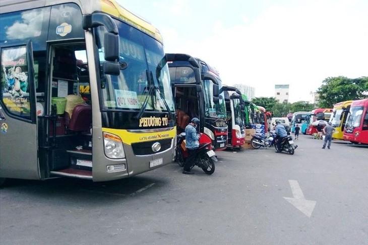TP.HCM dự kiến mở lại xe khách liên tỉnh từ ngày 13/10.