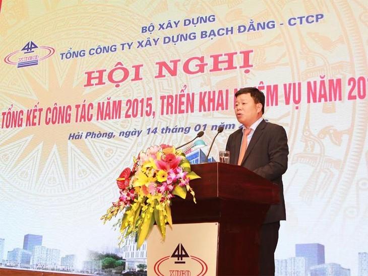 Ông Lê Trung Kiên, Tổng giám đốc của BDCC phát biểu tại Hội nghị