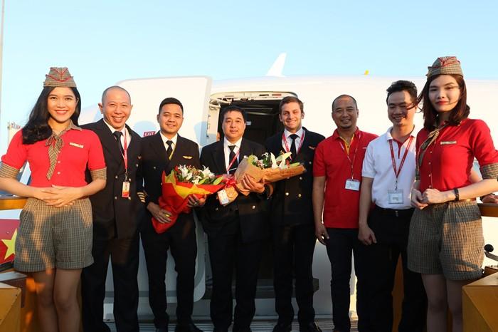 Vietjet đón tàu bay thứ 32 phục vụ Tết Bính Thân 2016