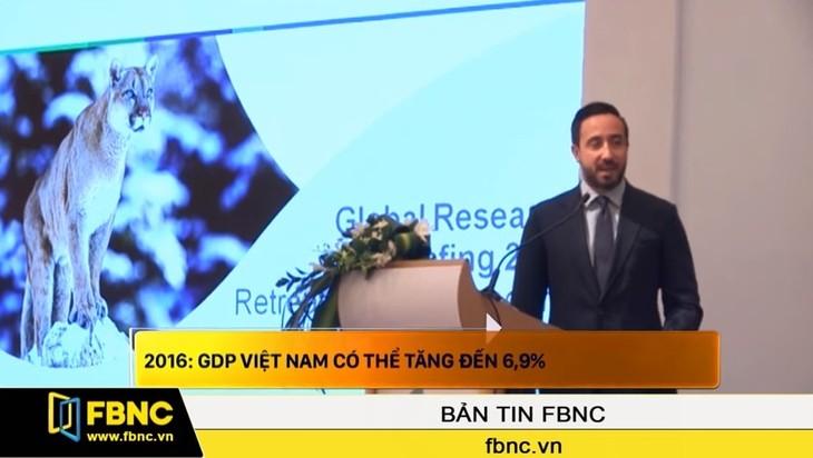 2016: GDP Việt Nam có thể tăng đến 6,9%