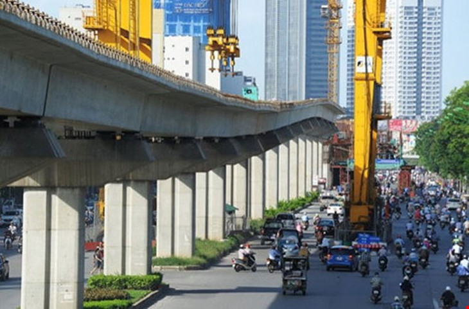 Đường sắt Cát Linh - Hà Đông lại kêu ca về vốn