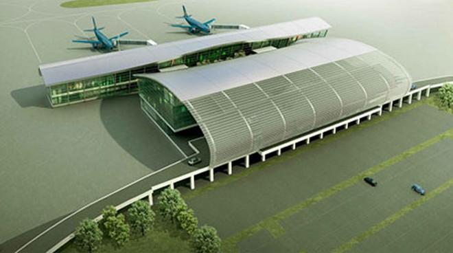 Mô hình Cảng hàng không quốc tế Cát Bi (Hải Phòng), dự kiến sẽ hoàn thành vào ngày 13/5.