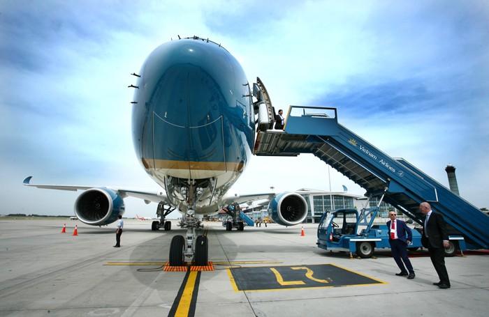 Vietnam Airlines đã góp 151 tỷ đồng để thành lập Công ty CP Hàng không SKYVIET. Ảnh: Lê Tiên