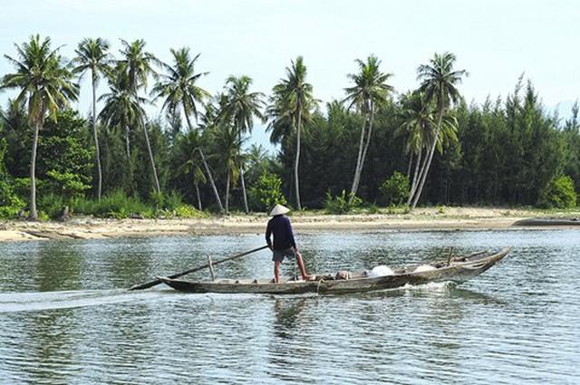 Đảo Nam Hải (Quảng Nam). Ảnh: Trần Thường