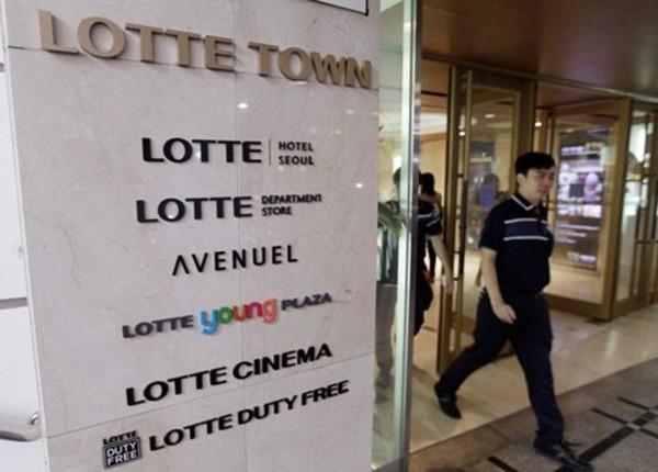 Lotte là một trong những công ty nổi tiếng nhất Hàn Quốc. Ảnh: AP