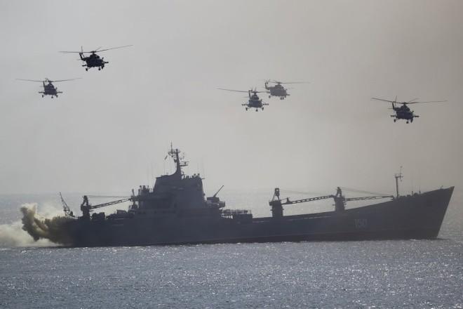 Cuộc tập trận phô diễn sức mạnh của Nga ở Crimea