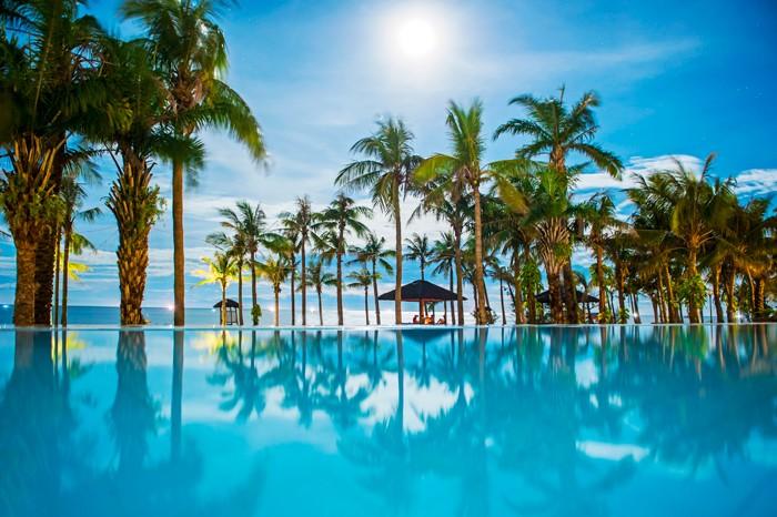 Khu du lịch Sun Spa Resort của Tập đoàn Trường Thịnh đã biến bán đảo Bảo Ninh thành thiên đường xanh bên bờ Nhật Lệ