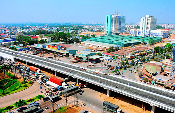 Một góc thành phố Biên Hòa. Ảnh Internet