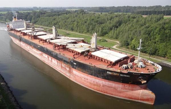 Tàu Vinalines Global được Tổng công ty Hàng hải Việt Nam đề xuất bán. Ảnh: Xuân Hoa