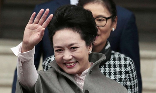 Đệ nhất phu nhân Trung Quốc Bành Lệ Viện. Ảnh:Reuters.