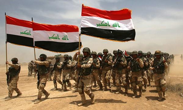 Quân đội Iraq tham gia chiến dịch giải phóng Mosul. Ảnh:Reuters