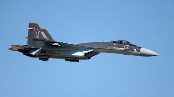 Tiêm kích Su-35S trong biên chế Không quân Nga. Ảnh:RT.