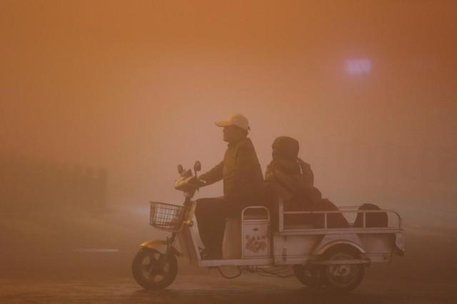 Ô nhiễm không khí ở Trung Quốc vượt quy chuẩn của WHO 100 lần