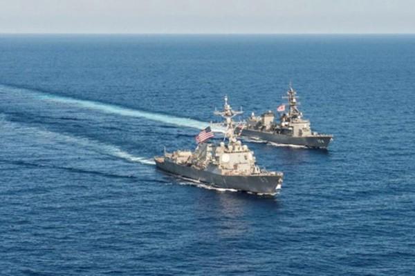 Nhật Bản khẳng định sẽ tiếp tục ủng hộ các hoạt động bảo vệ tự do hàng hải ở Biển Đông. Ảnh minh họa:Reuters