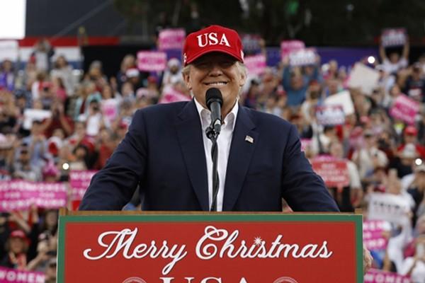 Tổng thống Mỹ đắc cử Donald Trump. Ảnh:Reuters