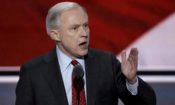 Bộ trưởng Tư pháp Mỹ Jeff Sessions. Ảnh:Reuters