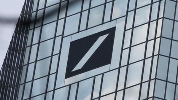 Deutsche Bank đã lỗ ròng 1,4 tỷ euro năm ngoái. Ảnh:AFP