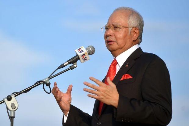 Thủ tướng Malaysia Najib Razak. (Ảnh: Star)