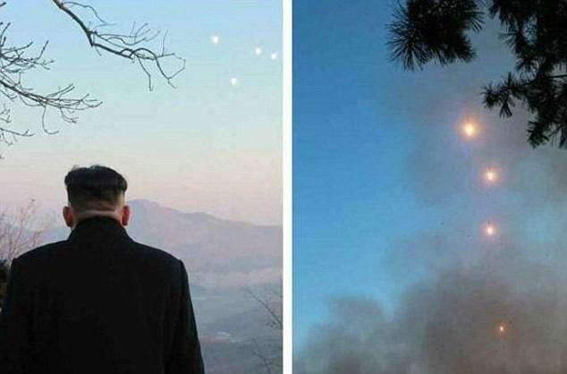 Nhà lãnh đạo Triều Tiên Kim Jong-un đã giám sát vụ phóng tên lửa hôm 6/3 (Ảnh: Rodong Sinmun)