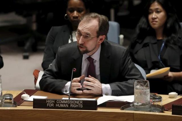 Cao ủy Liên Hợp Quốc về nhân quyền Zeid Ra'ad al-Hussein (Ảnh: Reuters)
