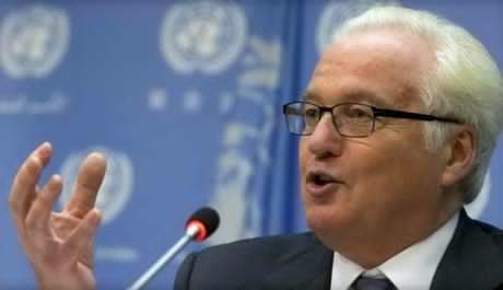 Cố đại sứ Nga tại Liên Hợp Quốc Vitaly Churkin. Ảnh: Reuters
