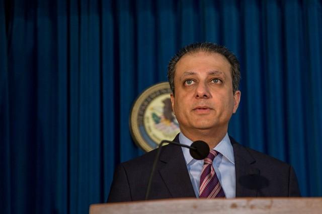 Công tố viên Preet Bharara, một trog các công tố viên do cựu Tổng thống Barack Obama bổ nhiệm, bị đề nghị từ chức ngay lập tức. (Ảnh: NYTimes)