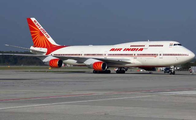 Máy bay của hãng hãng không Air India (Ảnh: NDTV)