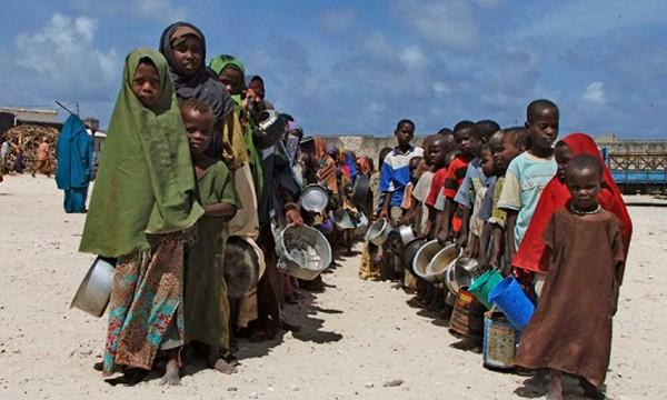 Người dân châu Phi đang phải đối mặt với nạn đói và bệnh dịch. Ảnh:pressherald